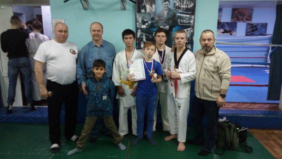 Юноши поселения Михайлово-Ярцевское приняли участие в турнире по рукопашному бою