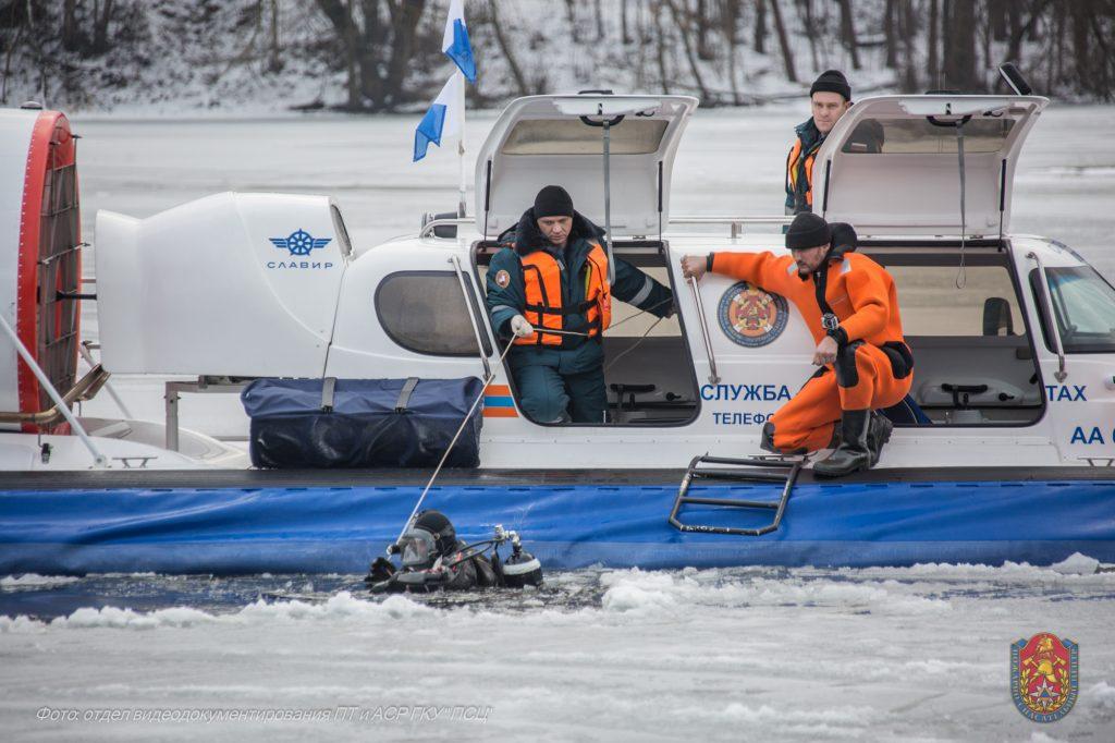 Безопасность на воде в зимний период обеспечат спасатели