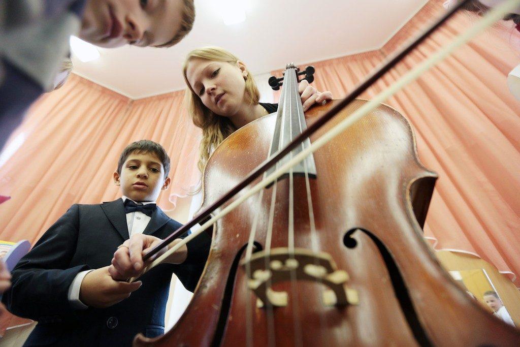 По классике тоскуя: лекцию-концерт проведут в Детской школе искусств «Гармония». Фото: Анна Иванцова, «Вечерняя Москва»