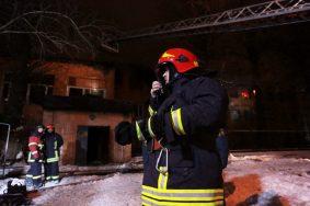 Пожарные спасли семь человек при пожаре в Москве