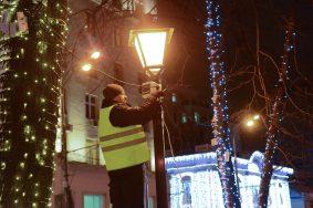 На Бульварном кольце установили 13 тысяч прожекторов