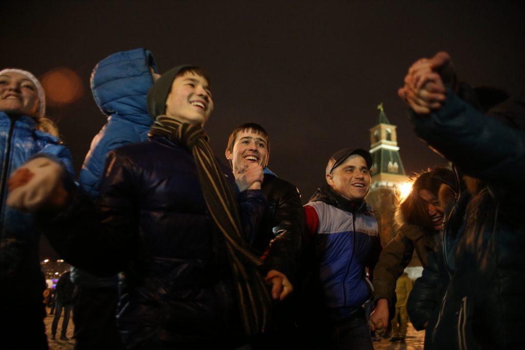 На Новый год Москва запретит торговать алкоголем в людных местах
