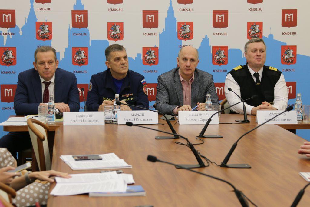 Пресс-конференция в преддверии Дня Спасателя прошла в Информационном центре Правительства Москвы
