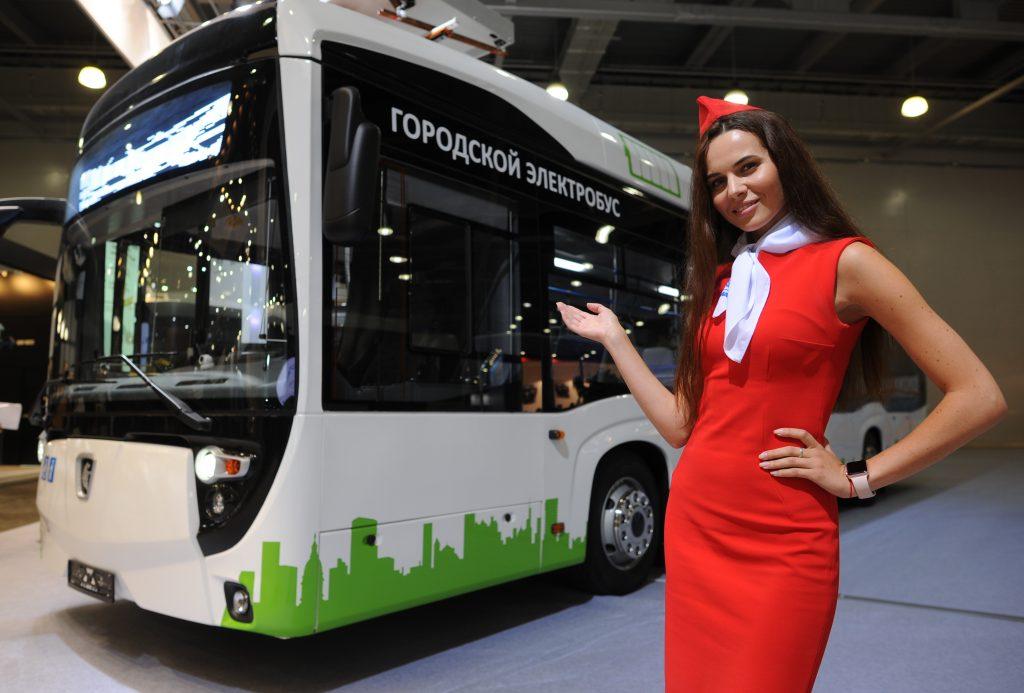 Власти Москвы закупят 300 электробусов в 2018 году