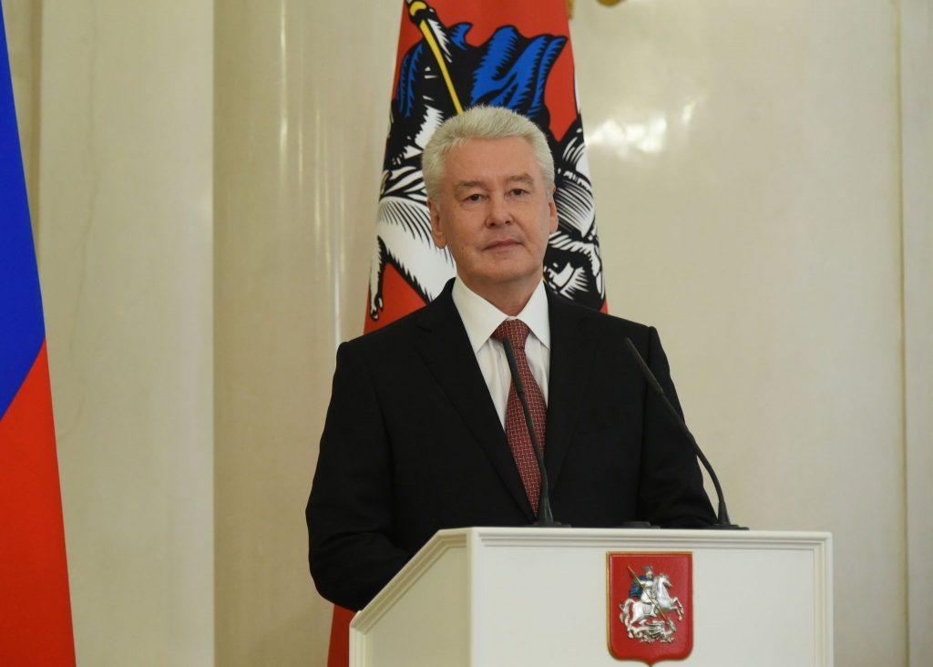Сергей Собянин поблагодарил коллектив газеты «Вечерняя Москва»