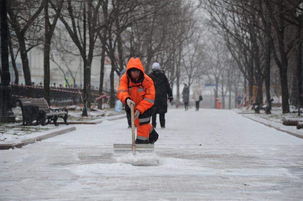 Коммунальные службы Москвы перешли на усиленный режим работы