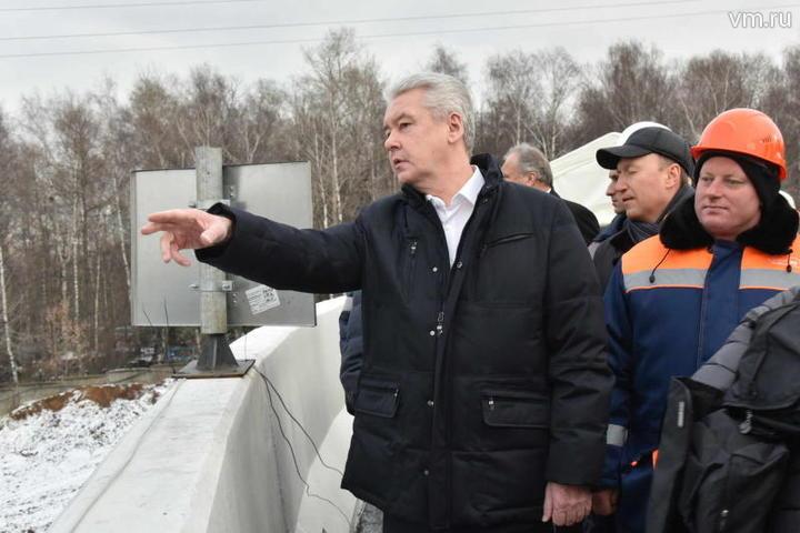 Собянин открыл движение по участку СЗХ от Мосфильмовской до улицы Генерала Дорохова