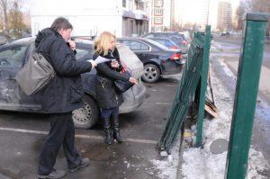Парковочные столбы установят в Коммунарке. Фото: архив