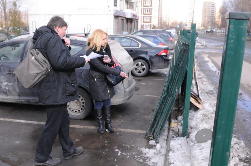 Парковочные столбы установят в Коммунарке