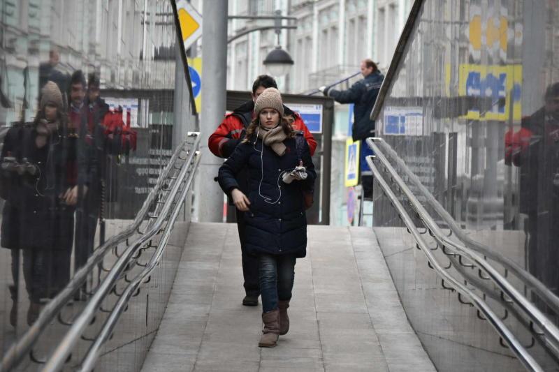 Более 20 пешеходных переходов обустроили в Новой Москве с начала 2017 года