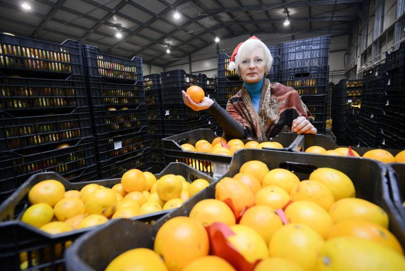 Власти Москвы сообщили о запасах мандаринов и шампанского к Новому году