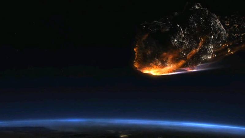 Землю настигнет астероид в форме черепа