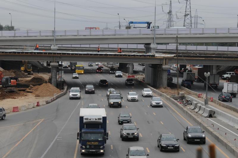 Около 300 километров дорог проложат в Новой Москве до 2021 года