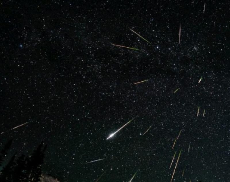 Жители Москвы увидят сильный звездопад