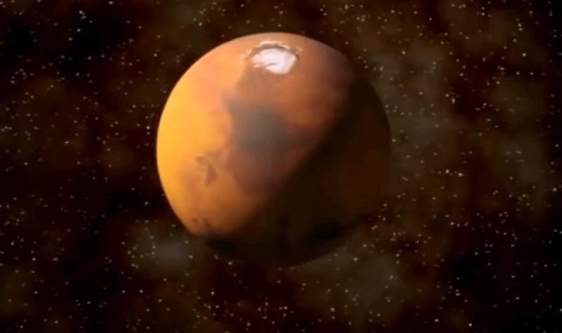 Планету Марс показали «в полный рост».
