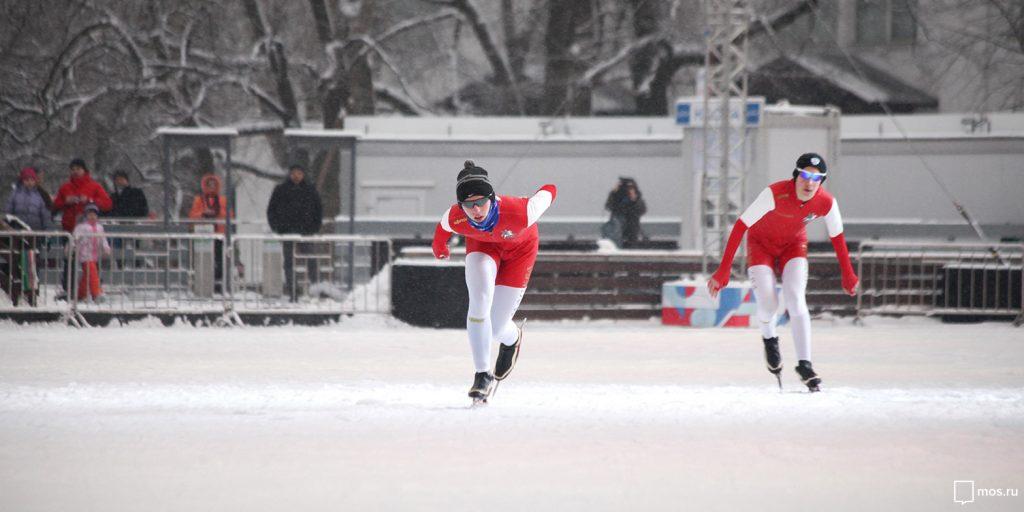 Соревнования по конькобежному спорту пройдут в Московском