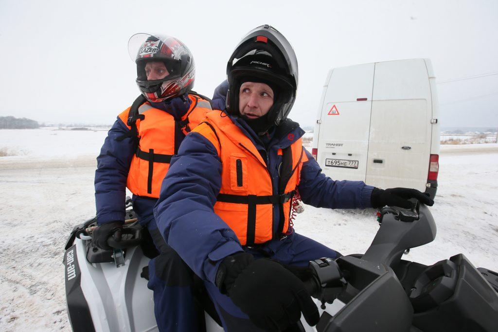 Ледовый патруль присмотрит за рыболовами