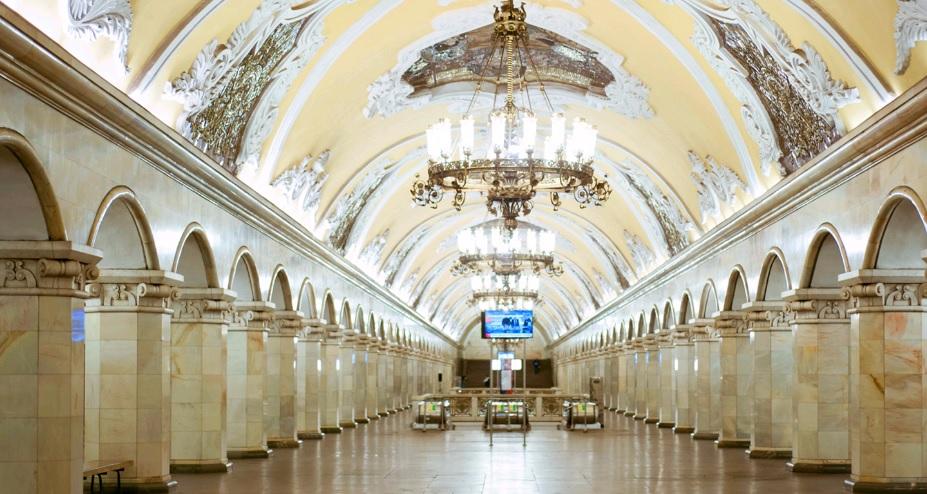 Три станции Московского метро признали культурным наследием