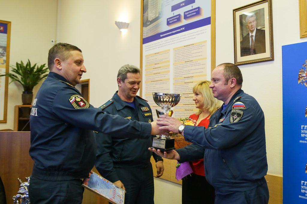 Подведение итогов информационной деятельности провели в Главном управлении Министерства по чрезвычайным ситуациям по Москве