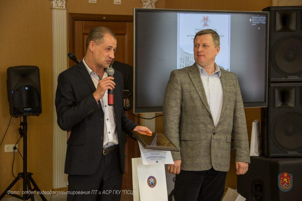 Московские спасатели наградили лучших журналистов