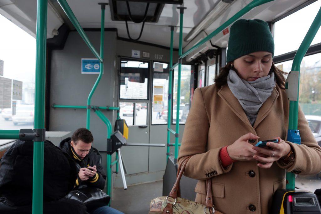 Беспроводной интернет может появиться в частных автобусах.Фото: архив, «Вечерняя Москва»