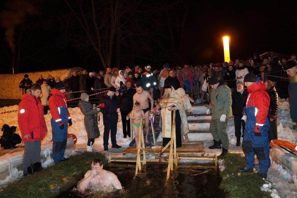 Жители Новой Москвы смогут принять участие в Крещенских купаниях