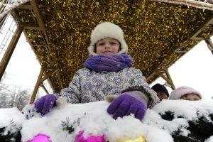 Рождественскую неделю провели для воспитанников детского сада Первомайского. Фото: Пелагия Замятина