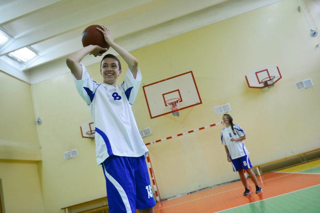 Баскетбольный турнир проведут в Сосенском центре спорта. Фото: Наталья Феоктистова