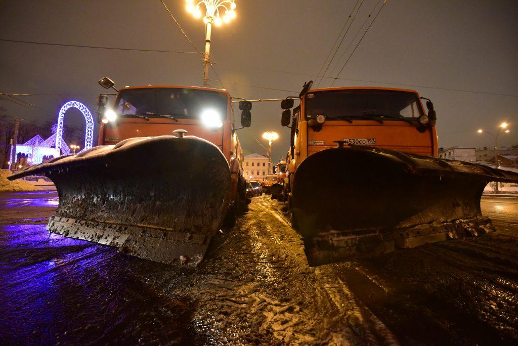 Москве грозит снежный час пик вечером в понедельник