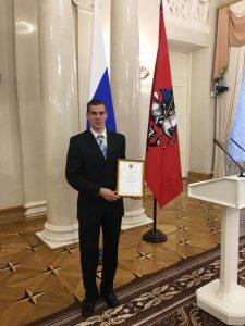 Преподаватель физической культуры Школы №2083 Антон Зуев. Фото: пресс-служба Школы №2083