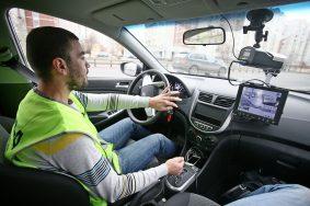 Систему общественного контроля работы водителей подключат в автомобилях ЦОДД