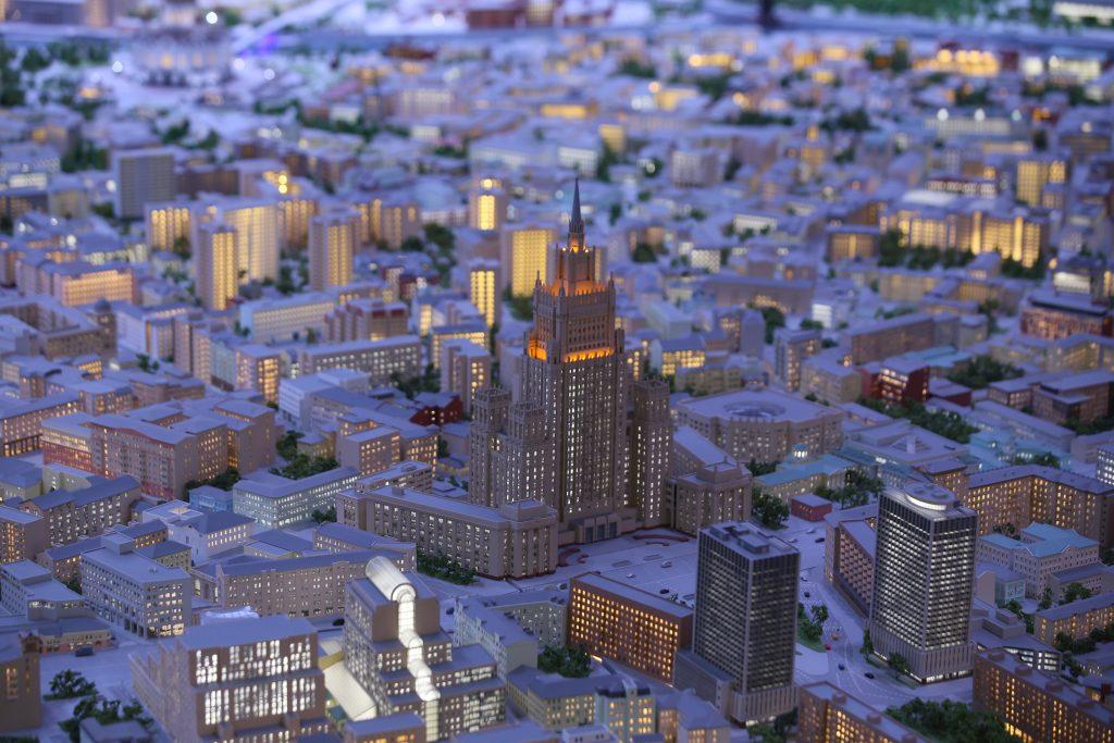 Гигантский макет Москвы на ВДНХ достроят к 2020 году