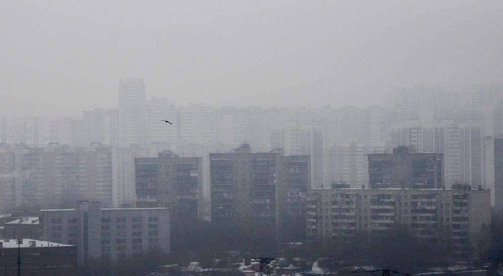 В среду Москву затянуло туманом