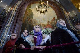 Участниками рождественских богослужений в Москве стали порядка 600 тысяч человек