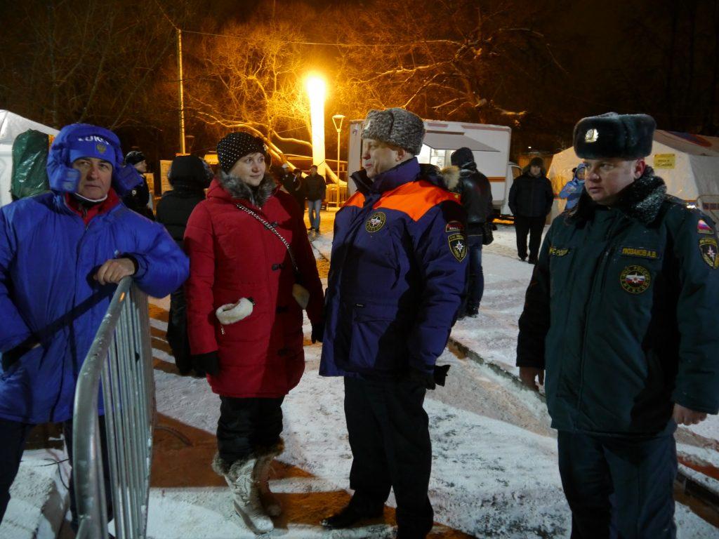 Более 10 тысяч жителей Новой Москвы приняли участие в Крещенских купаниях