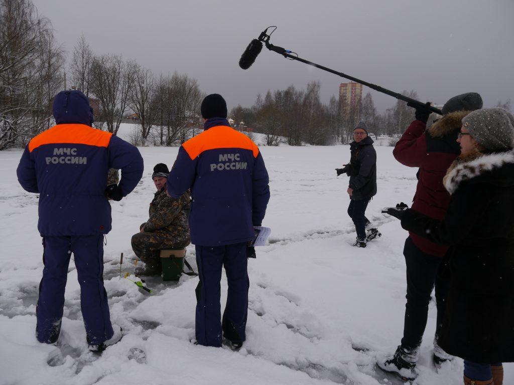 Рейды по местам массового выхода любителей подледной рыбалки провели в Новой Москве