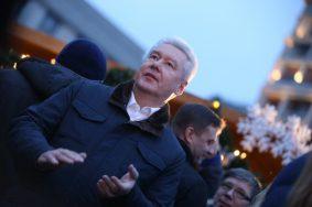 Сергей Собянин: За 10 праздничных дней новогодние площадки в Москве посетили свыше 10 миллионов человек
