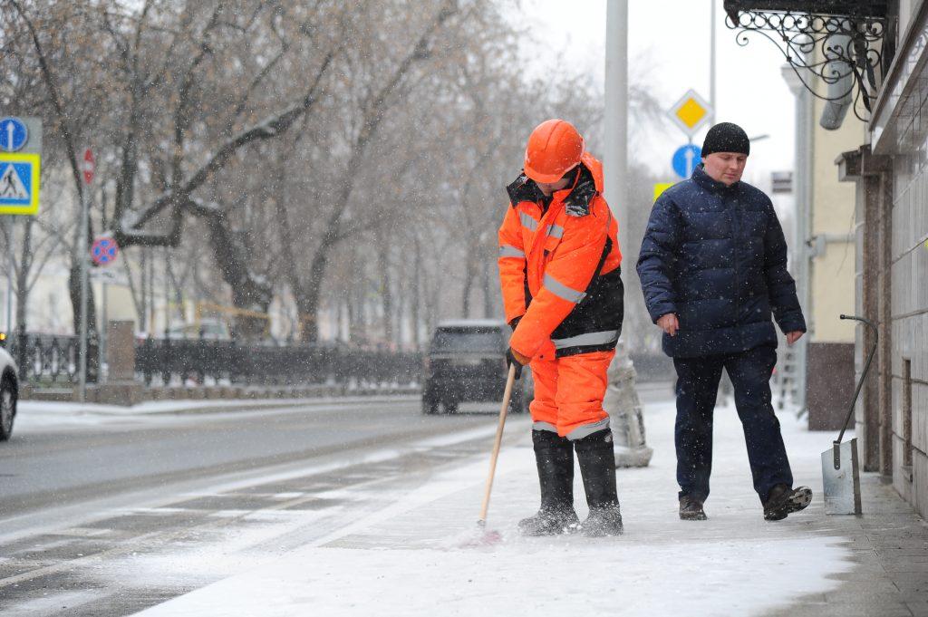 Коммунальщики устранили последствия снегопада