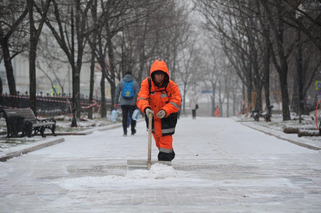 Коммунальные службы устранили последствия снегопада 19 января