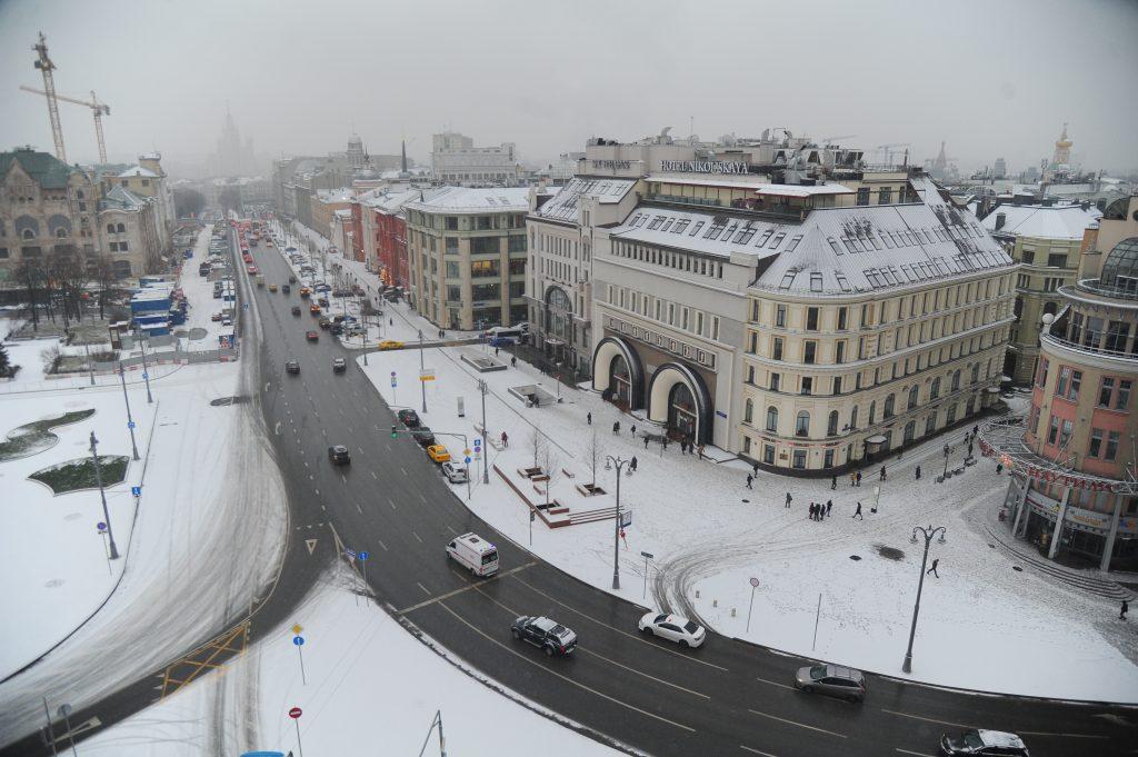 Похолодание придет в Москву на Рождество