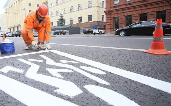 Дорожную разметку обновят в Новофедоровском
