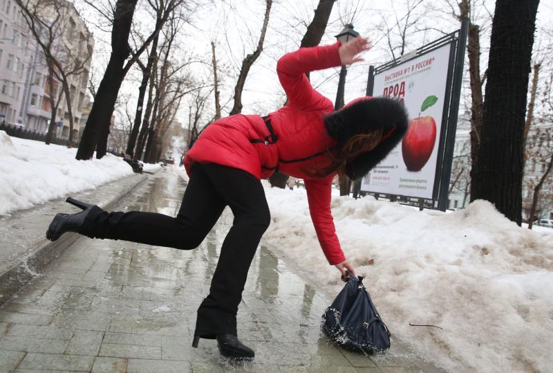 Последний день января встретит жителей Москвы утренним гололедом
