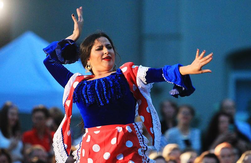 Фестиваль восточных танцев проведут в Щаповском