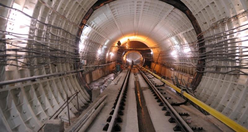 Мэр Москвы рассказал о пассажиропотоке строящейся Большой кольцевой линии метро