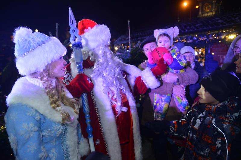 Более двух миллионов человек побывали на новогодних мероприятиях в Москве