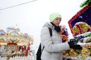 "Москвичи поставят оценку фестивалю ""Путешествие в Рождество"". Фото: Пелагия Замятина"
