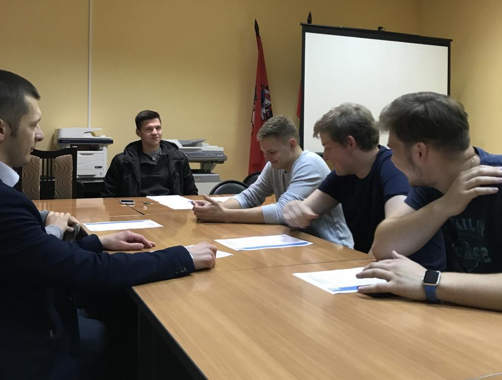 Молодежная палата организует круглый стол во Внуковском