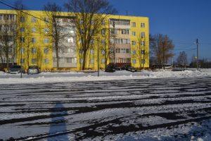 Парковка около дома №21 на Юбилейной улице. Фото: администрация поселения Роговское