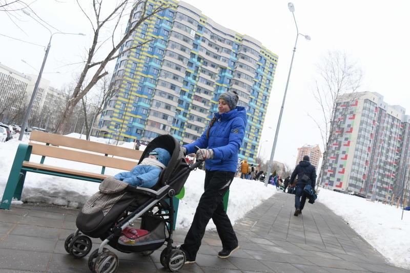 Более 1,4 миллиона квадратных метров жилой недвижимости построили в 2017 году в Новой Москве