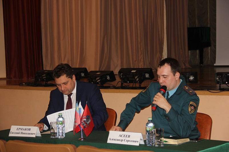 Профилактические встречи с гражданами проведены в Новой Москве
